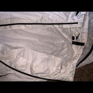 adidas Jackets & Coats - Adidas Windbreaker Size Small (White)